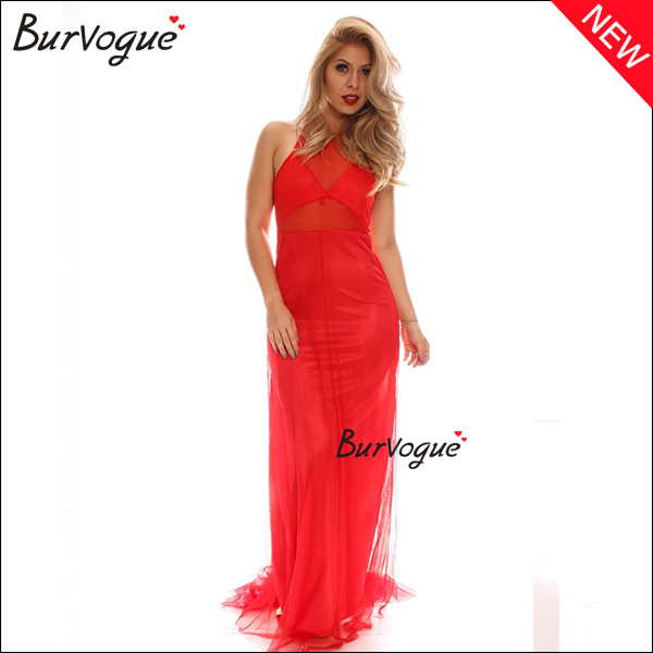 new-red-mesh-sheer-maxi-dress-backless-halter-sexy-lingerie-15439