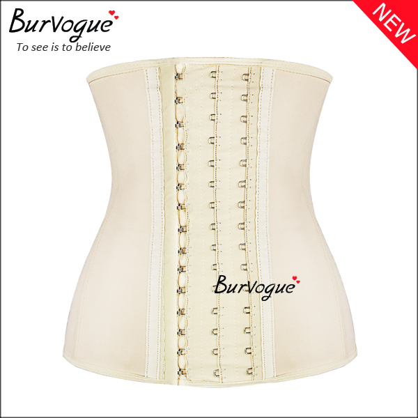 new-skin-latex-9-steel-boned-waist-cincher-training-corset-21433