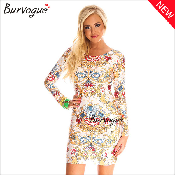 new-stylish-printing-dress-long-sleeve-herve-leger-dress-15465