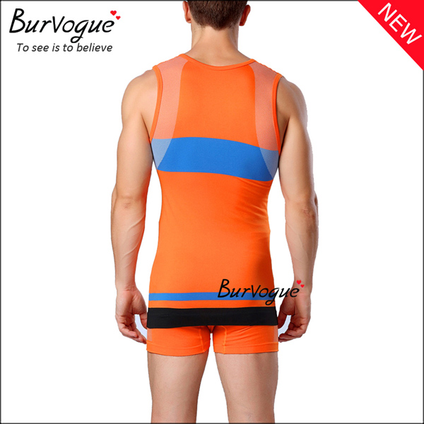 orange-mens-sports-waist-trainer-body-shaper-sleeveless-vest-80059