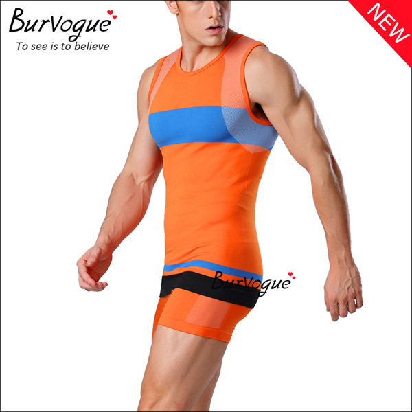 orange-mens-sports-waist-trainer-sleeveless-vest-80059