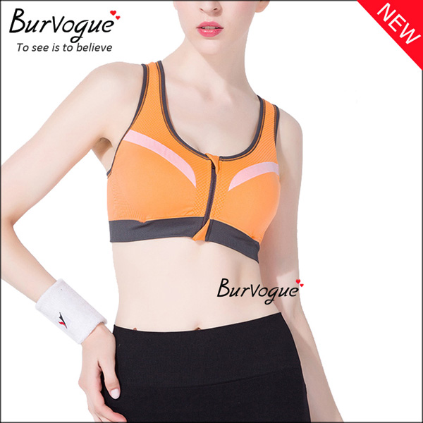 orange-padded-underwear-workout-sports-bras-with-zip-80037