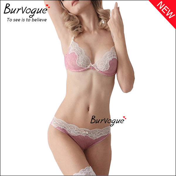 pink-transparent-lace-intimate-underwear-bra-sets-wholesale-60082