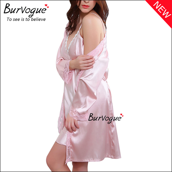 pink-two-pieces-gowns-robes-silk-women-nightdress-sexy-lingerie-13183