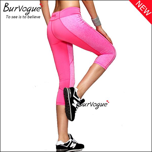 pink-womens-foldover-mid-waist-yoga-pants80084