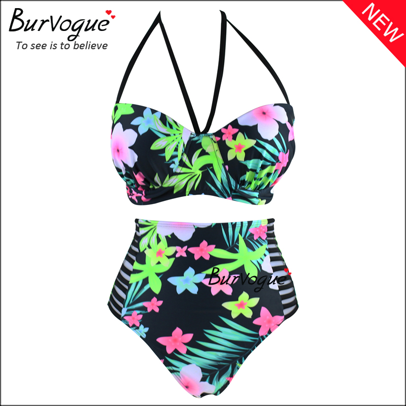 plus-size-bandage-swimwears-printing-high-waist-swimsuits-70106