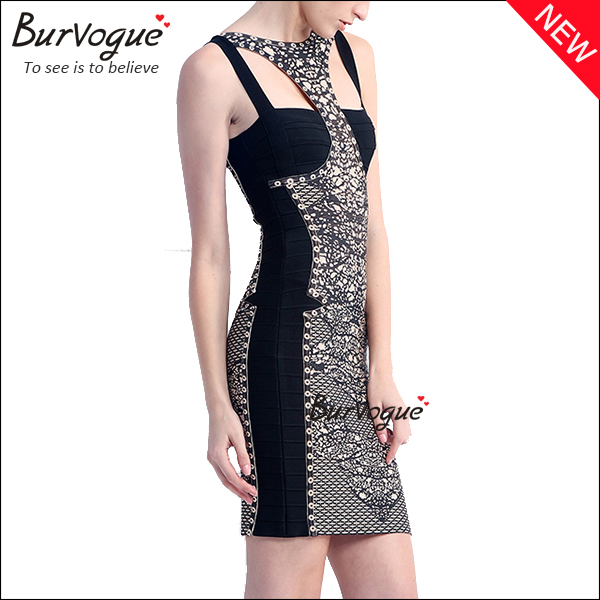 printing-bandage-dress-sexy-hollow-out-party-dress-15620