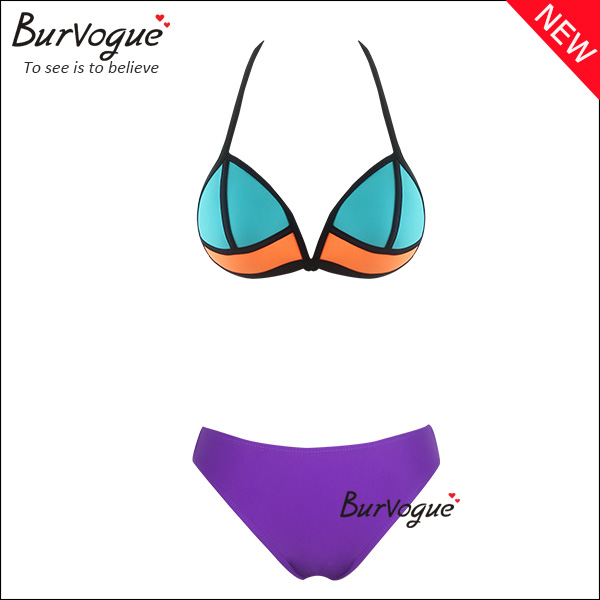 purple-halter-neck-tankini-swimsuit-push-up-bikini-swimwear-70091