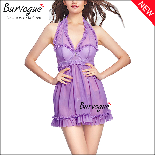 purple-sexy-mesh-chemises-nightwear-lace-babydolls-wholesale-13140