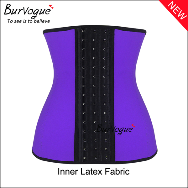 purple-steel-boned-inner-latex-shaper-waist-training-corset-21442