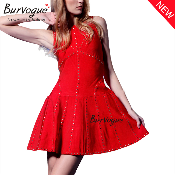 red-fashion-casual-dress-sleeveless-party-dress-15623