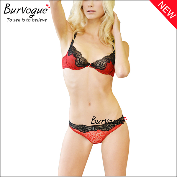red-intimate-underwear-bra-sets-wholesale-60082