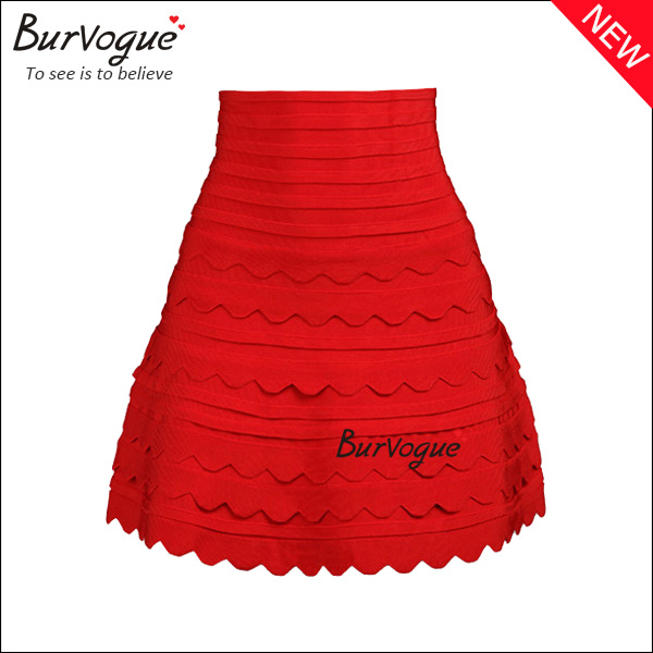 red-party-skirt-with-zipper-15619
