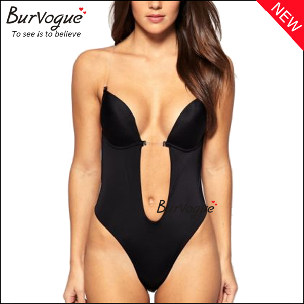 sexy-black-deep-v-body-shaper-backless-one-piece-shaper-16055