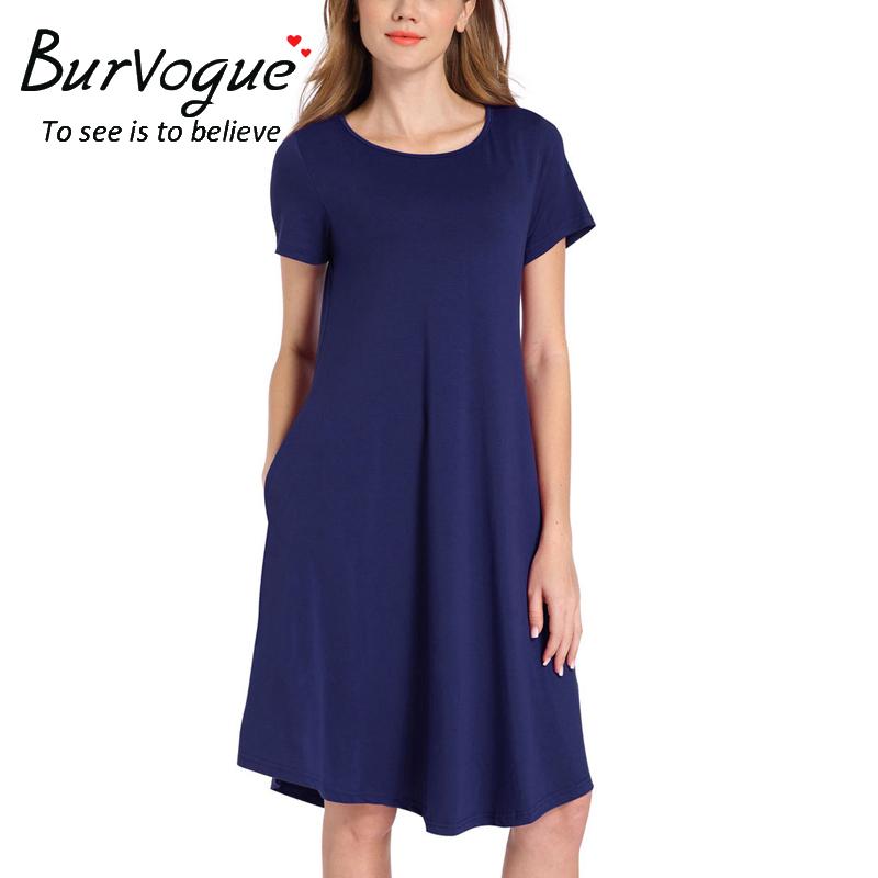 short-sleeve-a-line-swing-dresses-17008