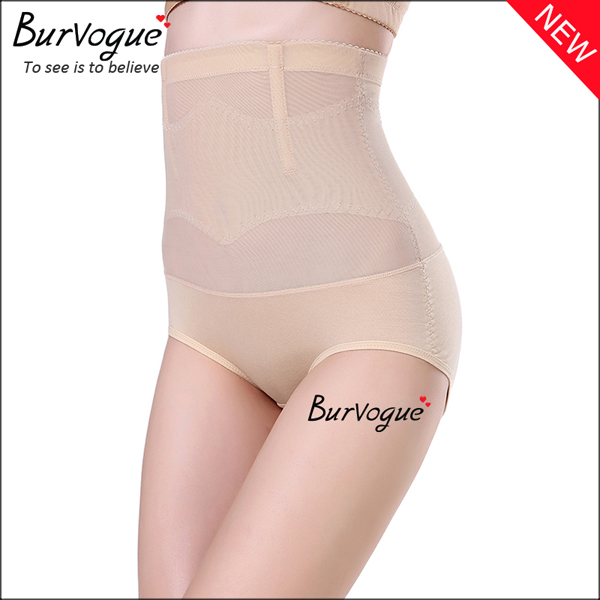 skin-high-waist-lace-boyshort-2-steel-boned-body-shaper-for-women-16089