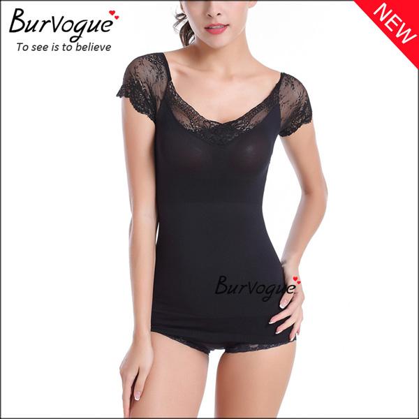 slimming-short-sleeve-bodysuits-lace-body-shaper-wholesale-16082