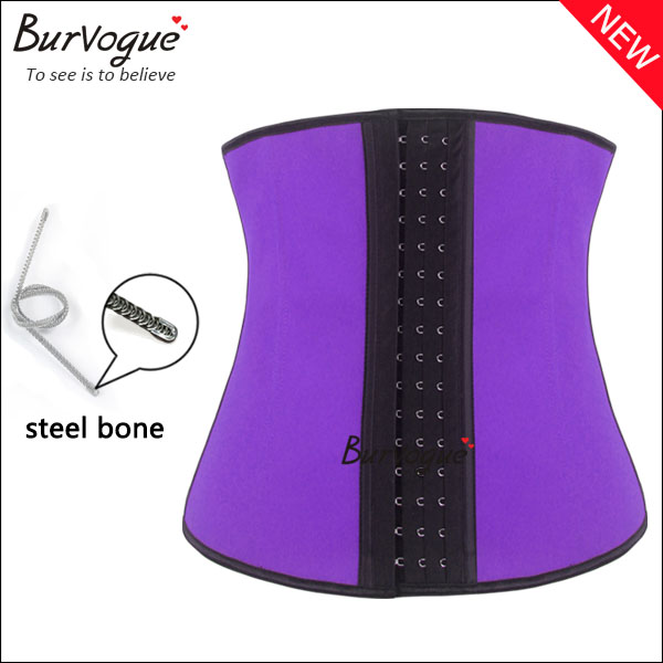 slimming latex shaper steel bone latex waist training corset wholesale-21430