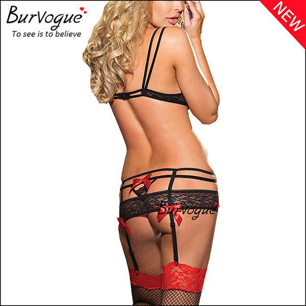strapped-open-cups-lace-bra-sets-lingerie-and-thong-13156