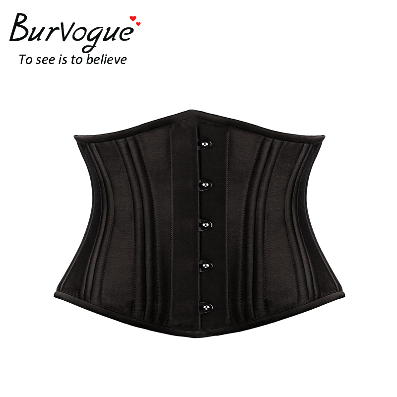 stylish-satin-bustier-double-strong-steel-boned-corset -23072