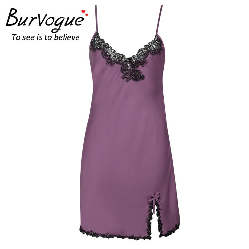 v-neck-sleepwear-satin-nightgown-13491