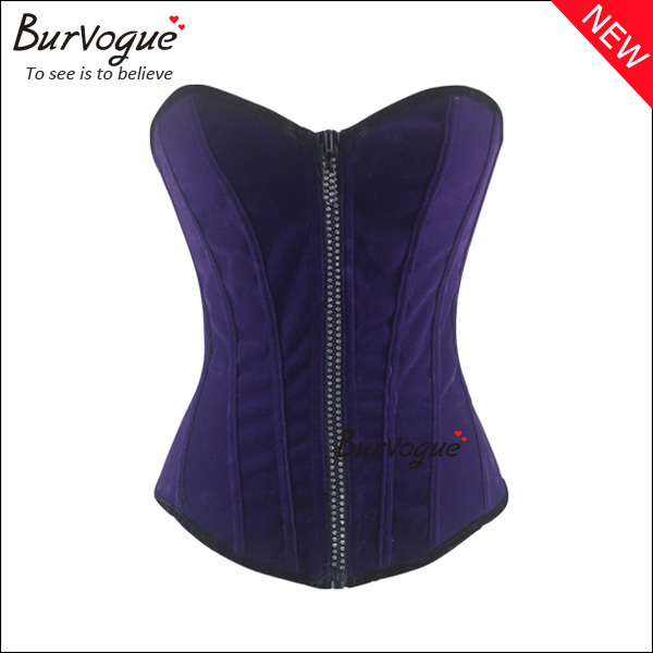 front-zipper-corset-wholesale