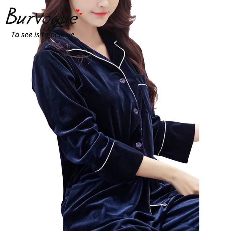 wholesale velvet pajamas sets sleepwear for women