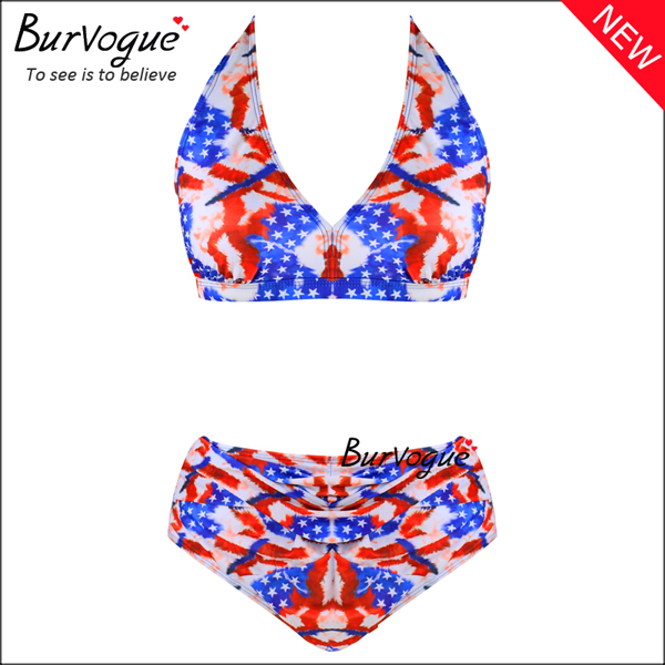 vintage-plus-size-swimwears-halter-high-waist-swimsuits-70137