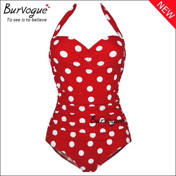 vintage-polka-dot-one-piece-swimsuit-full-piece-swimwear-70099
