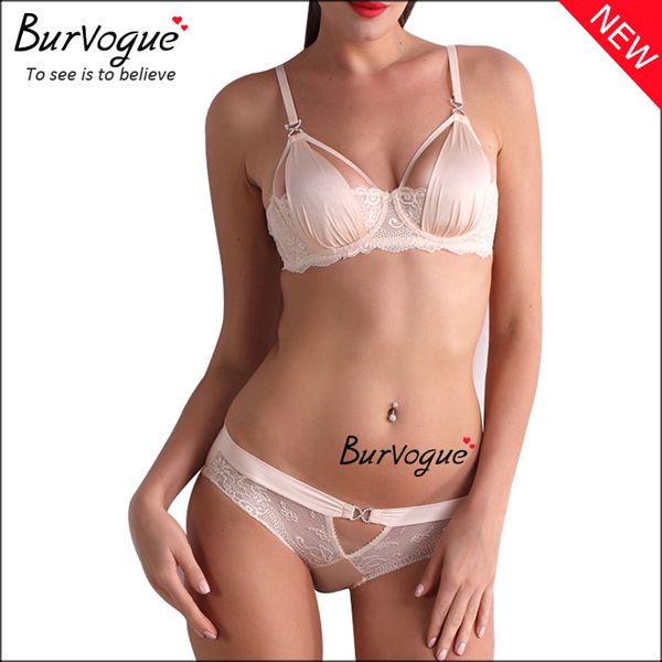 white-cheap-intimate-underwear-hollow-out-push-up-bra-sets-60091