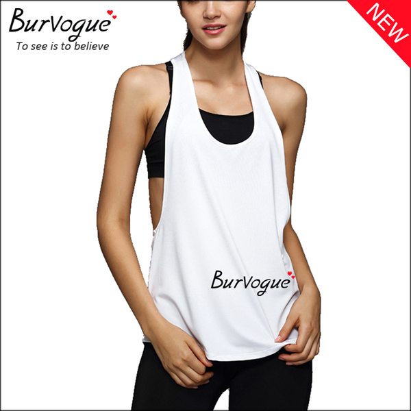 white-fitness-sleeveless-vest-workout-tank-tops-wholesale-80078