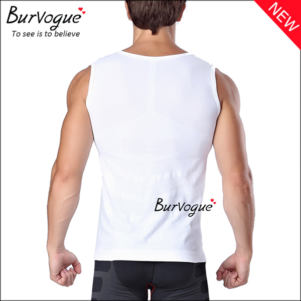 white-mens-sports-waist-trainer-sleeveless-undershirts-body-shaper-80057
