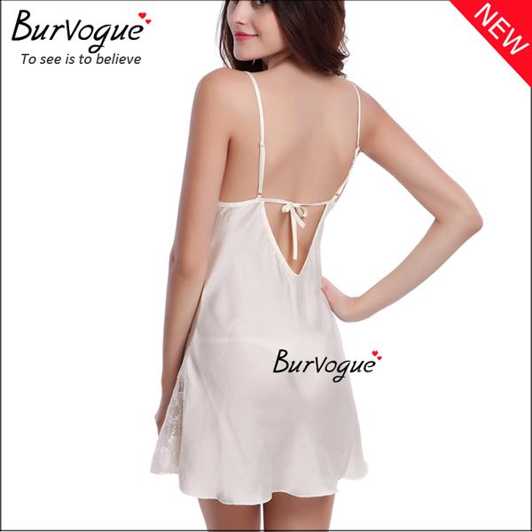 white-v-neck-nightgown-sleepwear-backless-babydolls-13175