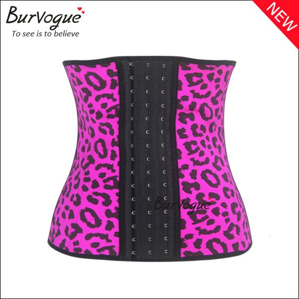 wind-red-latex-waist-cincher-steel-boned-underbust-corset-21438