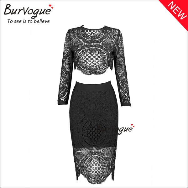 women-black-hollow-out-bodycon-dress-two-pieces-party-dress-15655