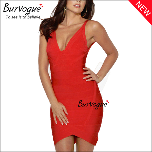 women-deep-v-bodycon-dress-sleeveless-party-bandage-dress-15678