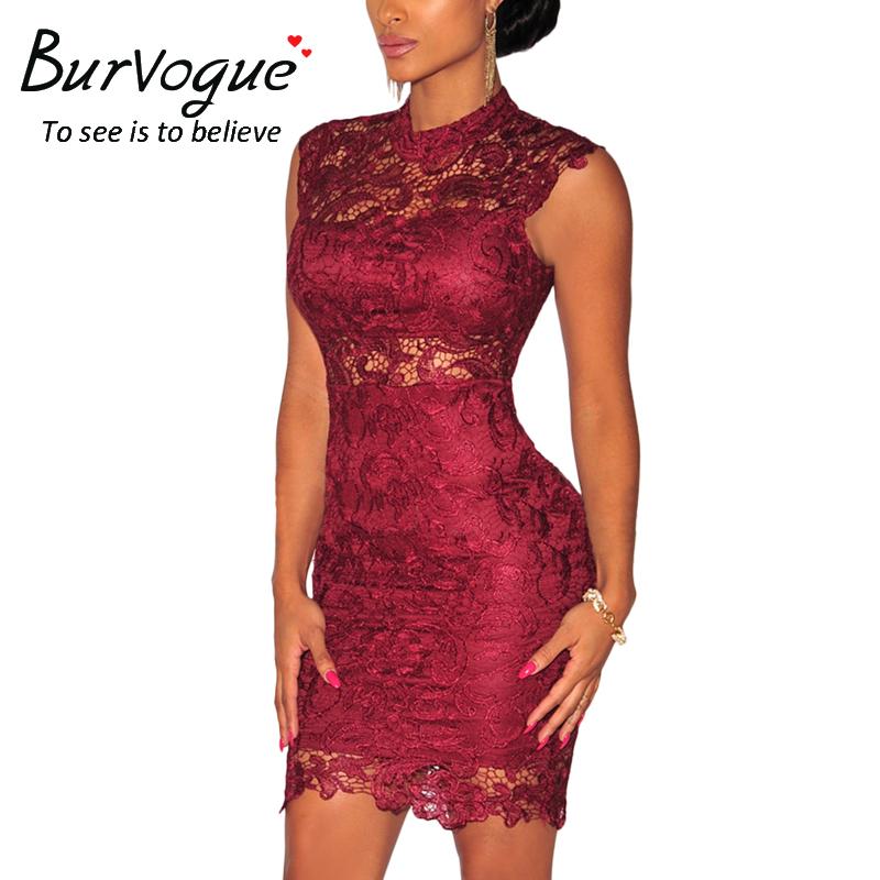 women-high-neck-lace--party-dress-15716