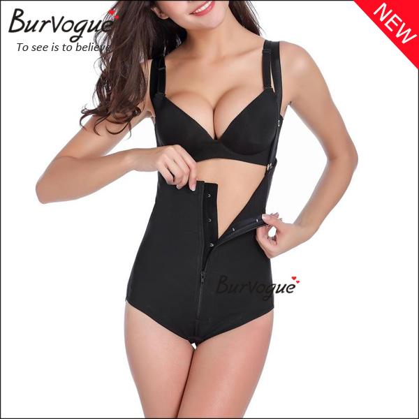 women-latex-girdle-waist-cincher-zip-body-shaper-wholesale-16068