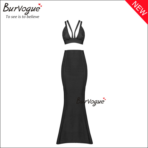 women-sexy-two-pieces-maxi-dress-deep-v-prom-bandage-dress-15656