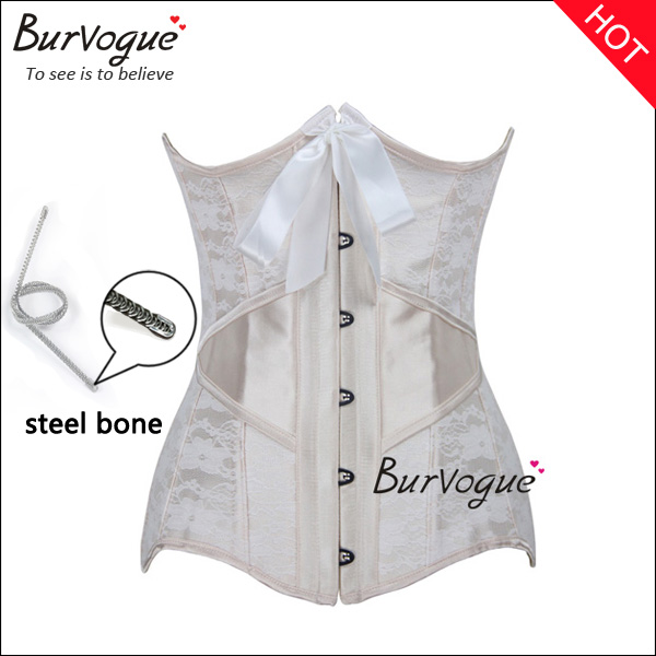 Champagne-underbust-corset