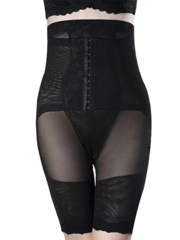 Women Plus Size Shapewear Bodysuit High Waist Body Shaper