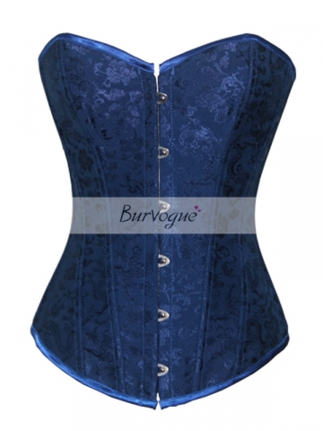 Fashion Noble Blue Beautiful Women Wholesale Corset