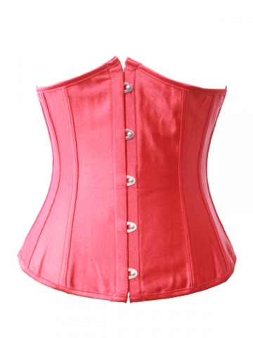 Hot Sale Fashion Red Underbust Corset Wholesale