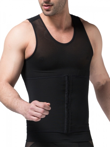 3 Hook And Eye Mens Waist Trainer Slimming Belt Body Shaper