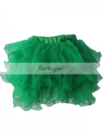 Hot Sale For Women Skirt Green Mesh TuTu