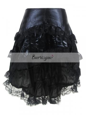 Beautiful Lace Trim Skirt Corset TUTU Dress With Zipper
