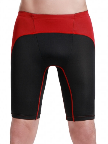 Mens Body Shaper Compression Tight Shorts Sports Leggings