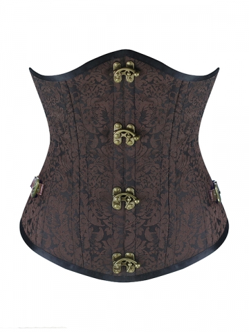 Gothic Steampunk Double Steel Boned Waist Training Corsets