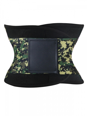 Adjustable Camouflage Sports Waist Trainer Trimmer Belt