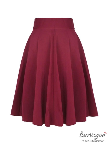 Vintage High Waist Midi Skater Steampunk Skirts Wholesale